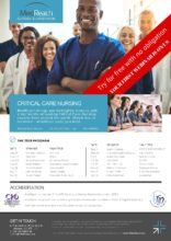 Global Critical Care Nursing Education